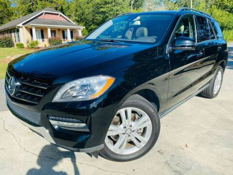 2013 Mercedes-Benz M-Class for sale at Cobb Luxury Cars in Marietta GA