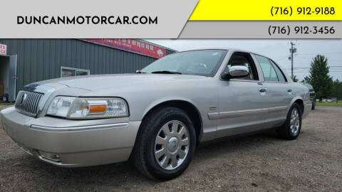 2008 Mercury Grand Marquis for sale at DuncanMotorcar.com in Buffalo NY