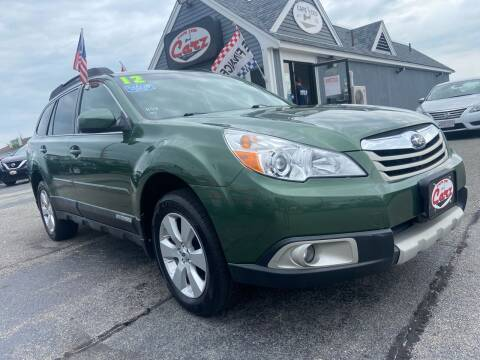 2012 Subaru Outback for sale at Cape Cod Carz in Hyannis MA