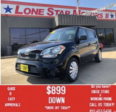 2013 Kia Soul for sale at LONE STAR MOTORS II in Fort Worth TX