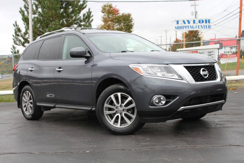 2014 Nissan Pathfinder for sale at Dan Paroby Auto Sales in Scranton PA