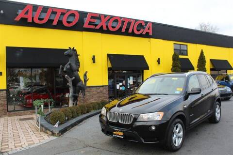 2011 BMW X3 for sale at Auto Exotica in Red Bank NJ