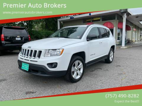 2012 Jeep Compass for sale at Premier Auto Brokers in Virginia Beach VA