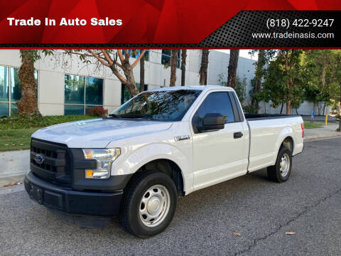 2016 Ford F-150 for sale at Trade In Auto Sales in Van Nuys CA