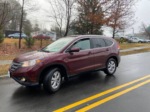 2013 Honda CR-V for sale at THE AUTO FINDERS in Durham NC