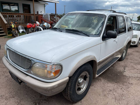 1998 Ford Explorer for sale at PYRAMID MOTORS - Fountain Lot in Fountain CO