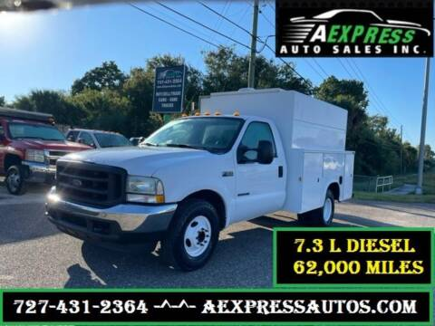 2003 Ford F-350 Super Duty for sale at A EXPRESS AUTO SALES INC in Tarpon Springs FL