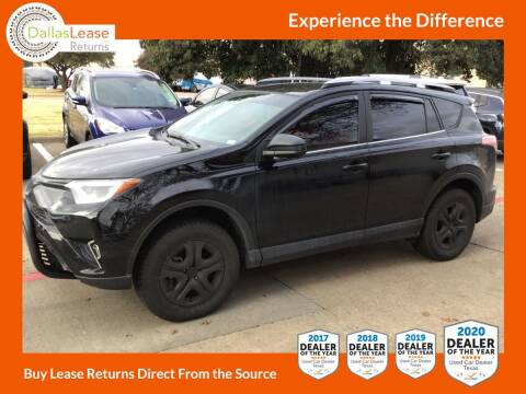 2017 Toyota RAV4 for sale at Dallas Auto Finance in Dallas TX