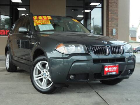 2006 BMW X3 for sale at Arandas Auto Sales in Milwaukee WI