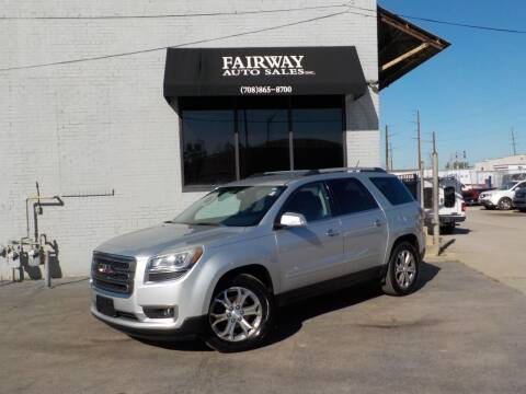 2013 GMC Acadia for sale at FAIRWAY AUTO SALES, INC. in Melrose Park IL