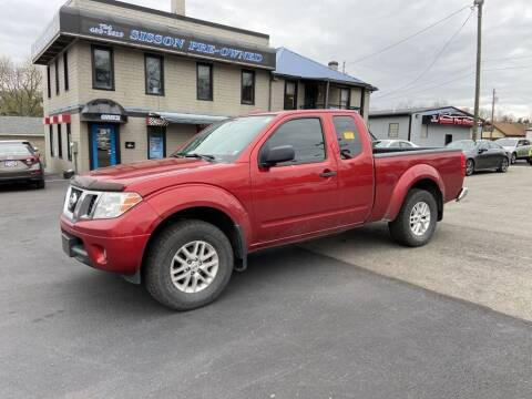 2014 Nissan Frontier for sale at Sisson Pre-Owned in Uniontown PA