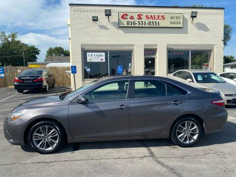 2015 Toyota Camry for sale at C & S SALES in Belton MO