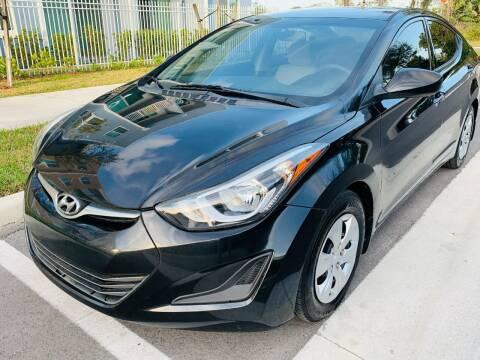 2016 Hyundai Elantra for sale at LA Motors Miami in Miami FL