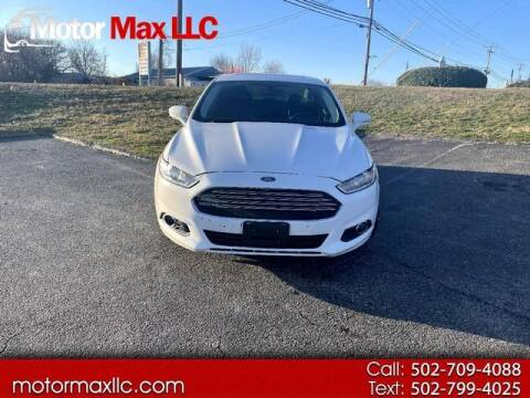 2015 Ford Fusion Energi for sale at Motor Max Llc in Louisville KY
