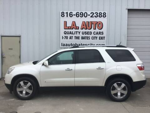 2010 GMC Acadia for sale at LA AUTO in Bates City MO