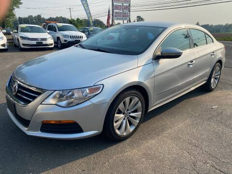 2012 Volkswagen CC for sale at East Windsor Auto in East Windsor CT