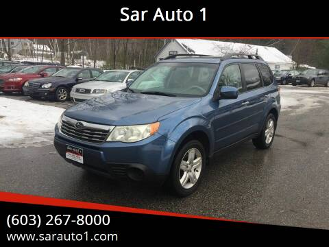2010 Subaru Forester for sale at Sar Auto 1 in Belmont NH