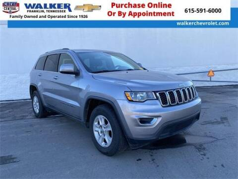 2017 Jeep Grand Cherokee for sale at WALKER CHEVROLET in Franklin TN
