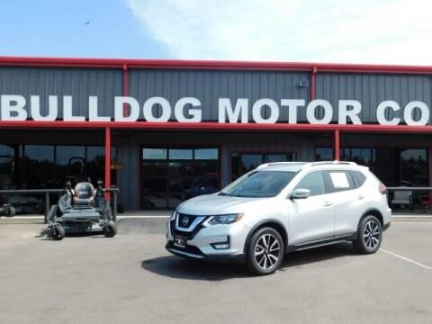 2019 Nissan Rogue for sale at Bulldog Motor Company in Borger TX