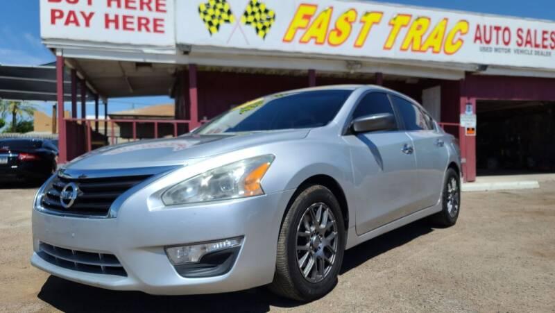2015 Nissan Altima for sale at Fast Trac Auto Sales in Phoenix AZ