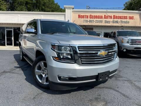 2017 Chevrolet Suburban for sale at North Georgia Auto Brokers in Snellville GA