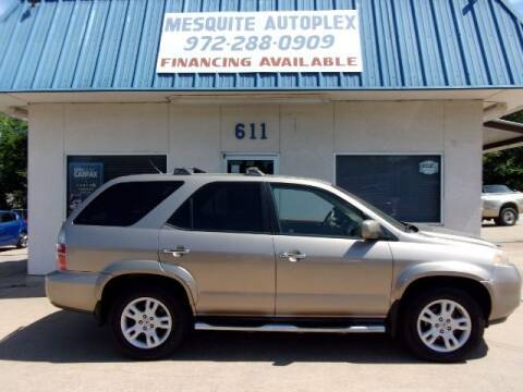 2004 Acura MDX for sale at MESQUITE AUTOPLEX in Mesquite TX