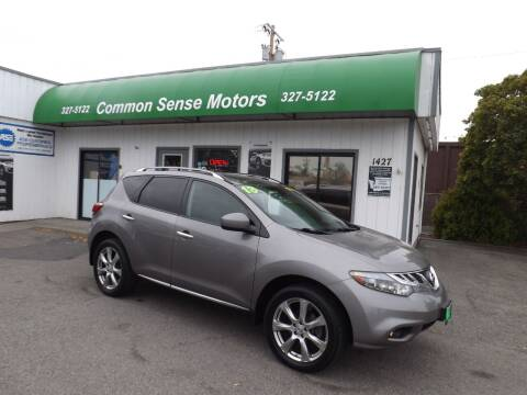 2012 Nissan Murano for sale at Common Sense Motors in Spokane WA