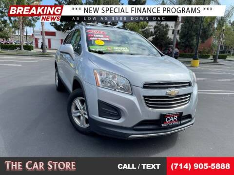 2015 Chevrolet Trax for sale at The Car Store in Santa Ana CA