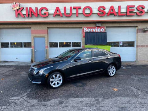 2013 Cadillac ATS for sale at KING AUTO SALES  II in Detroit MI