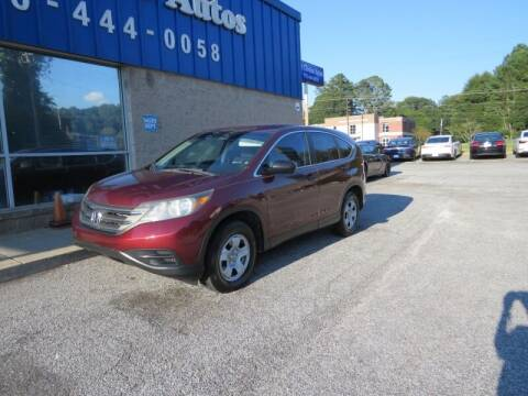 2013 Honda CR-V for sale at Southern Auto Solutions - 1st Choice Autos in Marietta GA