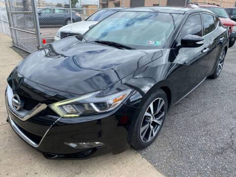 2016 Nissan Maxima for sale at The PA Kar Store Inc in Philadelphia PA