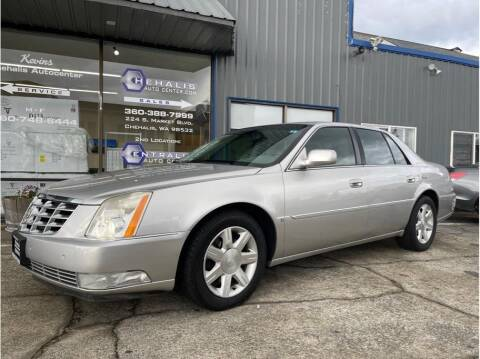 2007 Cadillac DTS for sale at Chehalis Auto Center in Chehalis WA
