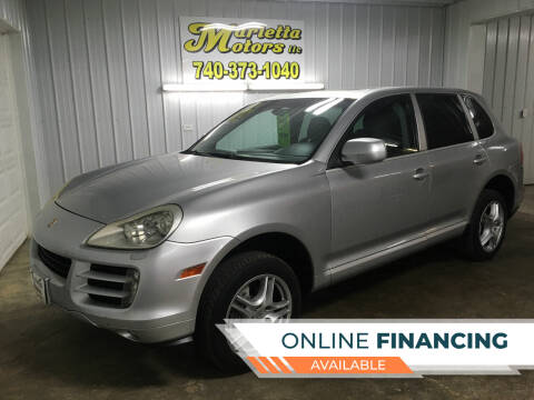 2009 Porsche Cayenne for sale at MARIETTA MOTORS LLC in Marietta OH