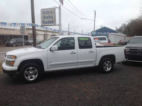 2009 Chevrolet Colorado for sale at GIB'S AUTO SALES in Tahlequah OK