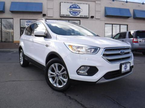 2018 Ford Escape for sale at Platinum Auto Sales in Provo UT