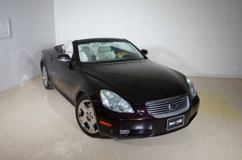 2004 Lexus SC 430 for sale at TopGear Motorcars in Grand Prarie TX