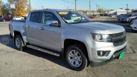 2016 Chevrolet Colorado for sale at Unzen Motors in Milbank SD