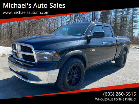 2010 Dodge Ram Pickup 1500 for sale at Michael's Auto Sales in Derry NH