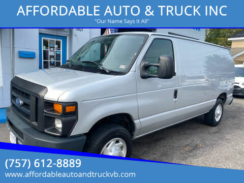 2011 Ford E-Series Cargo for sale at AFFORDABLE AUTO & TRUCK INC in Virginia Beach VA