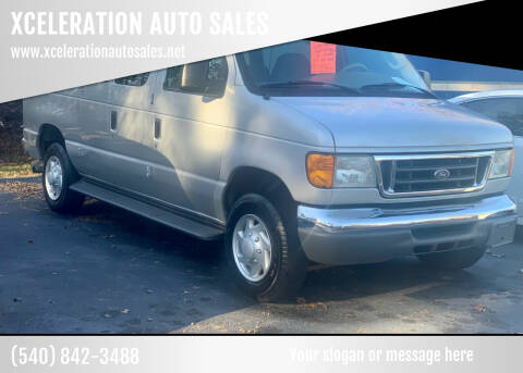 2007 Ford E-Series Wagon for sale at XCELERATION AUTO SALES in Chester VA