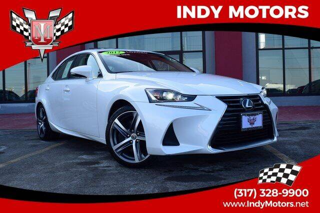 2017 Lexus IS 300 for sale at Indy Motors Inc in Indianapolis IN