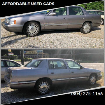 1998 Cadillac DeVille for sale at AFFORDABLE USED CARS in Richmond VA