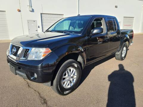 2016 Nissan Frontier for sale at NEW UNION FLEET SERVICES LLC in Goodyear AZ