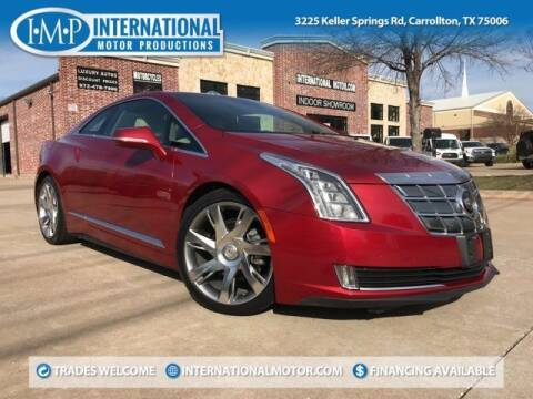 2014 Cadillac ELR for sale at International Motor Productions in Carrollton TX