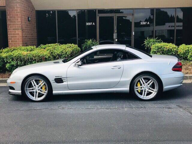 2003 Mercedes-Benz SL-Class for sale at RPM Motorsports Of Atlanta in Atlanta GA
