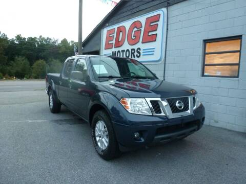 2017 Nissan Frontier for sale at Edge Motors in Mooresville NC