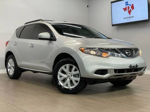 2013 Nissan Murano for sale at TX Auto Group in Houston TX