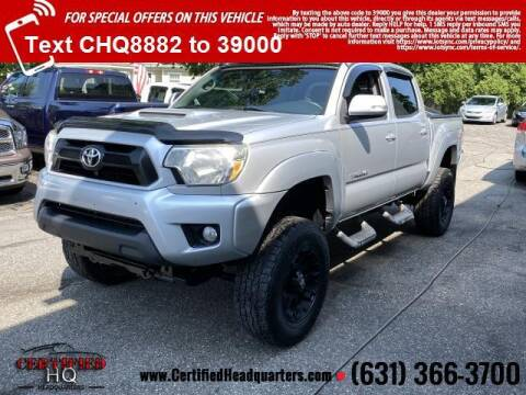 2013 Toyota Tacoma for sale at CERTIFIED HEADQUARTERS in Saint James NY