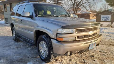 2003 Chevrolet Tahoe for sale at Shores Auto in Lakeland Shores MN