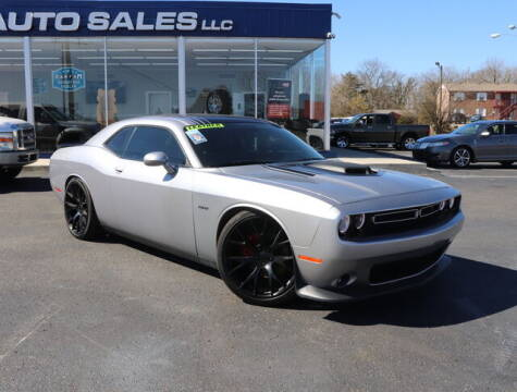 2015 Dodge Challenger for sale at Williams Auto Sales, LLC in Cookeville TN